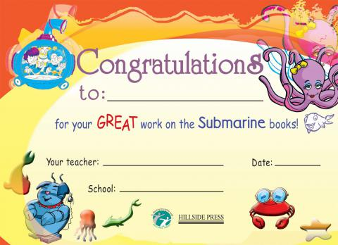 Submarines Award